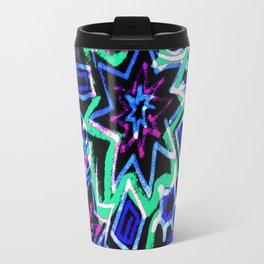 Pop Art Blues Travel Mug