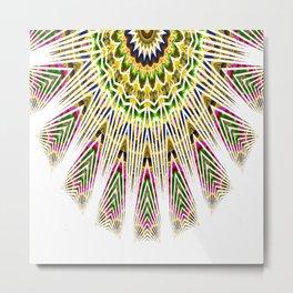 graphic mandala Metal Print
