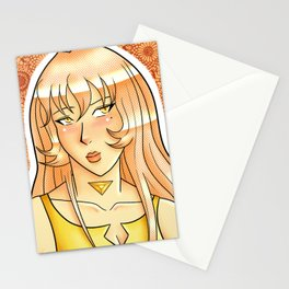 Golden Selenite Stationery Cards