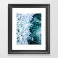 The Ocean Has My Heart Framed Art Print