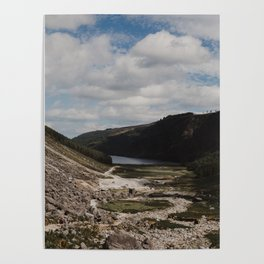 Hiking the Wicklow Mountains Poster