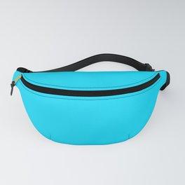 Neon Blue Fanny Pack