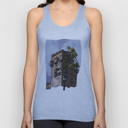 Tower of the palace (color) Unisex Tank Top