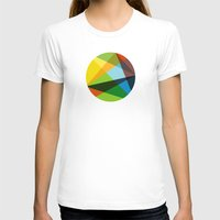 kaleidoscope T-shirts featuring Kaleidoscope by Marina Design