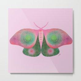 Moth Three Metal Print