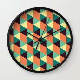 Fall Illusions Wall Clock