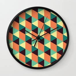 Fall Illusions Wall Clock