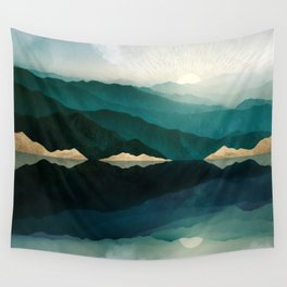 Waters Edge Reflection Wall Tapestry
