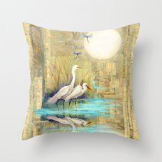 Nature Reflected Series: Local Life Throw Pillow