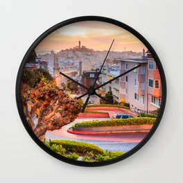 San Francisco 01 - USA Wall Clock