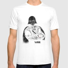 Heroes - The Mother MEDIUM White Mens Fitted Tee