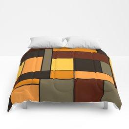 Mondrian Autumn Comforters