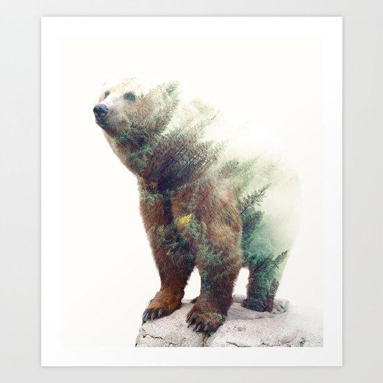 One With Nature V2 #society6 #buyart #decor Art Print