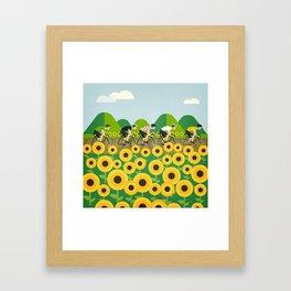 Le Tour I Framed Art Print