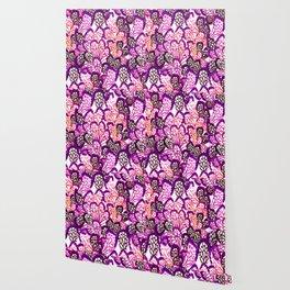 Purple wings Wallpaper