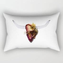 History In Bloom Rectangular Pillow