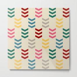 Colorful arrows Metal Print