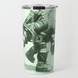 Daddy's Coming Home (Green) Travel Mug