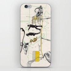 Schéma d'alimentation en Combustible de Moteur iPhone & iPod Skin