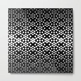 Geometric drawing Metal Print