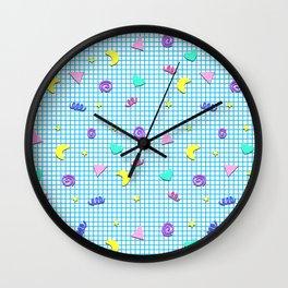 Confetti Grid Wall Clock