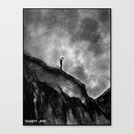 The Melancholy Zone Canvas Print