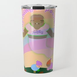 Anything is possible - Perhaps It's You Podcast Fan Art Travel Mug