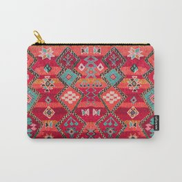 18 - Traditional Colored Epic Anthique Bohemian Moroccan Artwork Carry-All Pouch