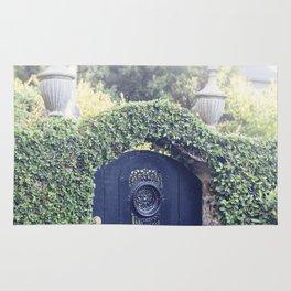 Charleston Black Garden Gate Rug