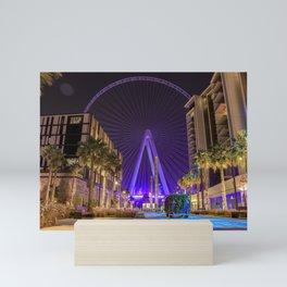 LIGHTING CITY Mini Art Print