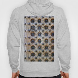 Wood Door Texture Hoody