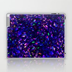 Fascination in blue- photograph of colorful lights Laptop & iPad Skin