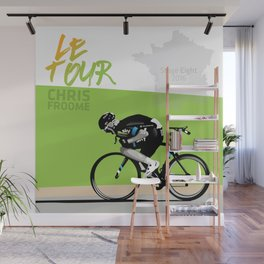 Le Tour + Froome Wall Mural