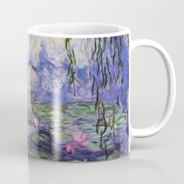 1917 Water Lilies oil on canvas. Claude Monet. Vintage fine art. Coffee Mug