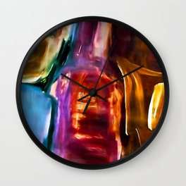 COLOUR OBSESSION no6 Wall Clock