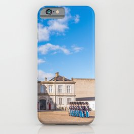 Changing the guard in Copenaghen iPhone Case