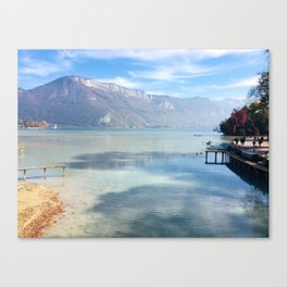 Lake Annecy Canvas Print