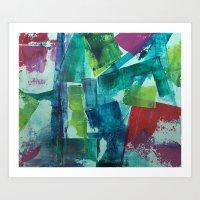 Drift and Tumble Art Print
