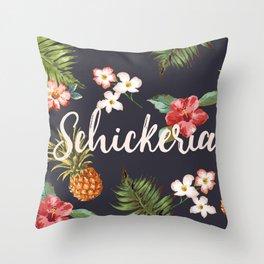 Schickeria Throw Pillow