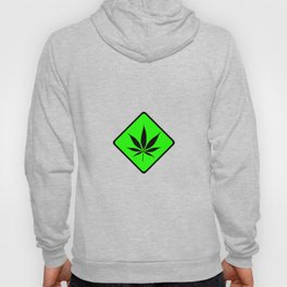 Weed Cannabis art work 420 pot head gift Hoody