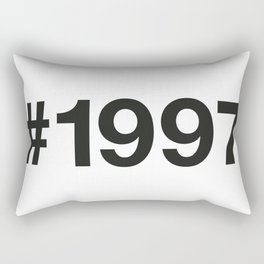 1997 Rectangular Pillow
