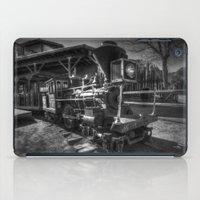 train iPad Cases featuring Train by John Hinrichs