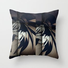 Spread our Wings Throw Pillow