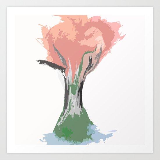 Tree of Autumn Art Print