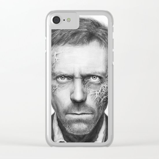 Hugh Laurie from House MD Doctor House Clear iPhone Case