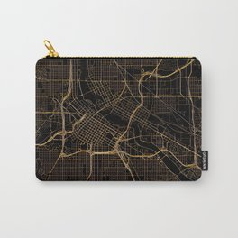 Minneapolis map, Minnesota Carry-All Pouch