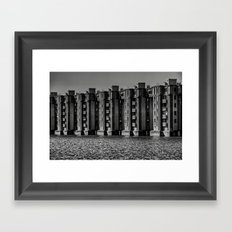 Livin' on water ? Framed Art Print