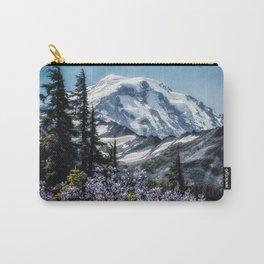 Scenic Art, Mt. Rainier, Mt. Rainier National Park, Spray Park Carry-All Pouch
