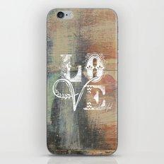 Love is beautiful iPhone & iPod Skin