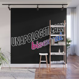 Unapologetically Bisexual Wall Mural